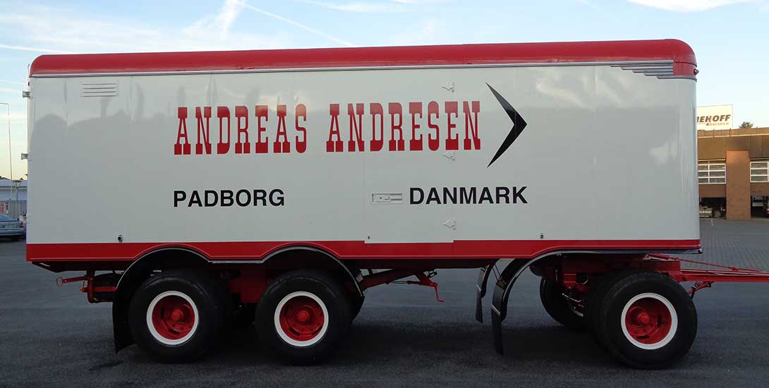 Ackermann construction year 1958 completely restored