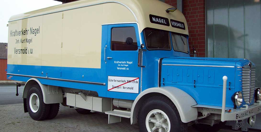 NAG Büssing von 1939 komplett restauriert