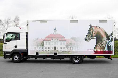 Pferdetransporter für 6 Pferde